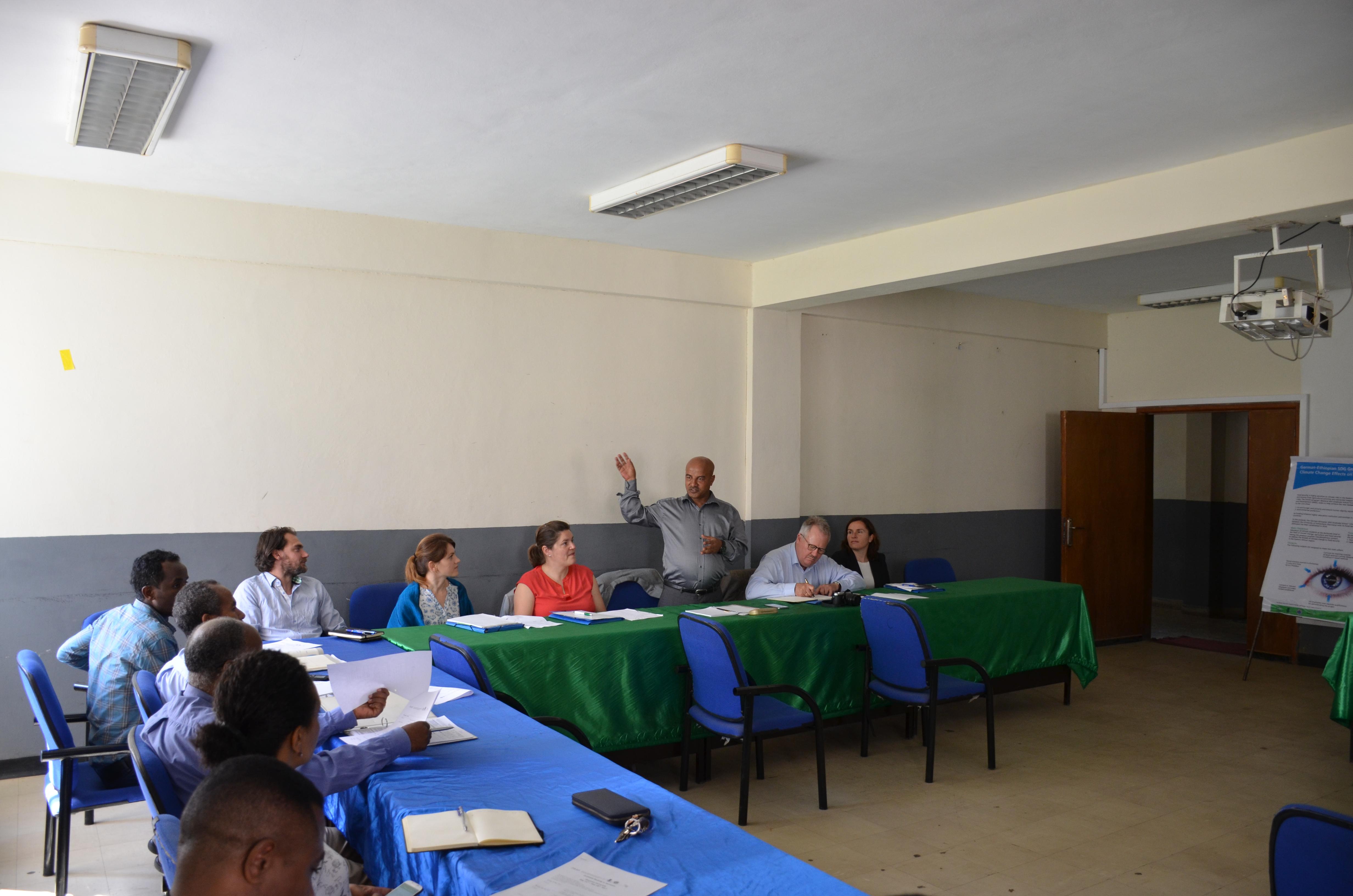 CLIFOOD coordination meeting at Hawassa University: Food Security Center